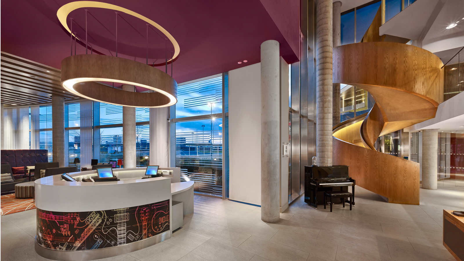 Business meets pleasure at the Aloft London Excel